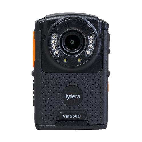 Hytera VM550D RVM bodycam remote speaker microphone front view