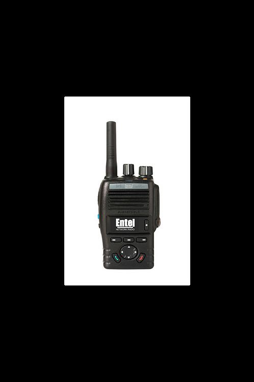 Entel DN495 push to talk over cellular PoC handheld radio