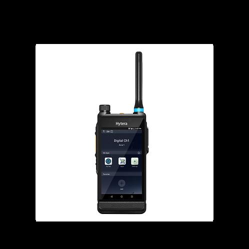 Hytera PDC550 Dual mode LTE/DMR UHF radio front