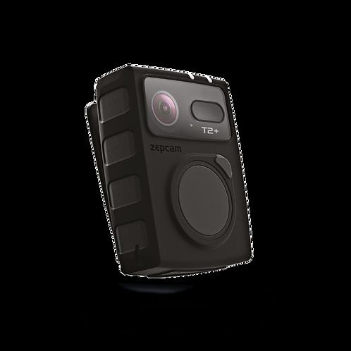 Zepcam T2+ body worn camera side