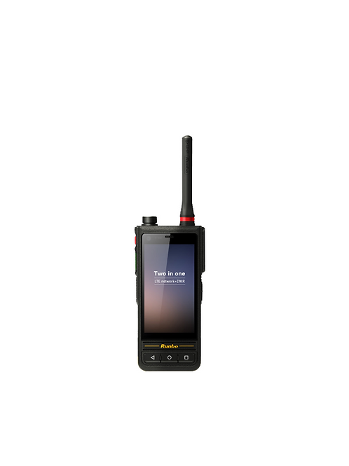 Runbo E81 dual PTT/LTE UHF and VHF handheld Android radio