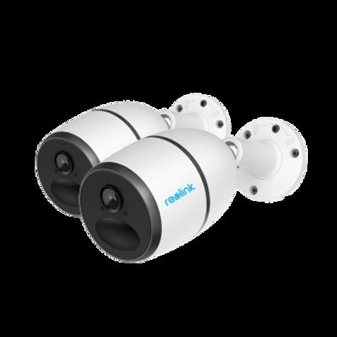 A pair of Reolink GO CCTV cameras