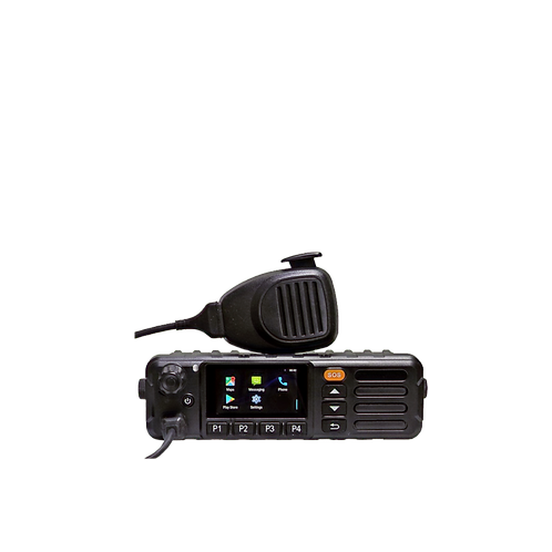 Inrico TM-7+ mobile radio push to talk over cellular LTE Poc
