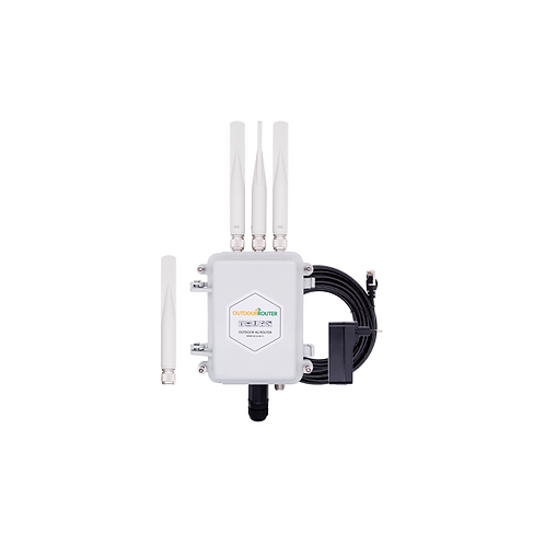 EZR33 Outdoor 4G dual SIM signal booster and router