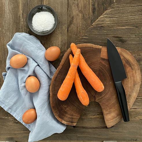 ingredientes carrot cake