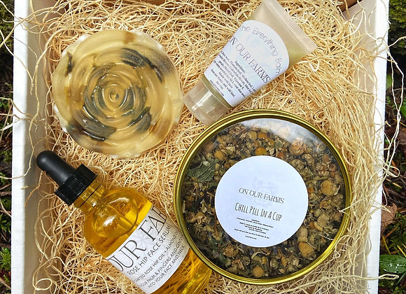 Feminine Box with Everything Balm by OnOurFarms