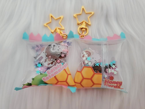 'Edible Entomology' Candy Bag Shaker Charm