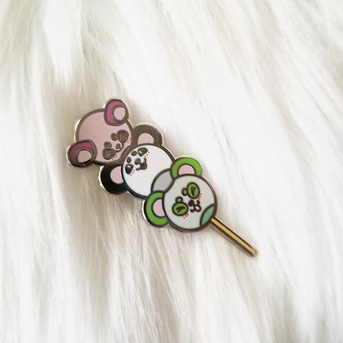 Pandango Enamel Pin