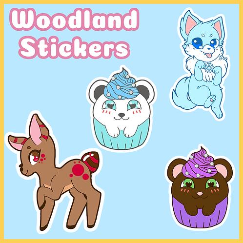 Woodland Stickers
