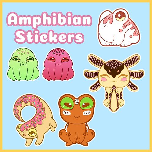 Amphibian Stickers