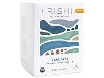 Earl Grey sachets from RIshi tea