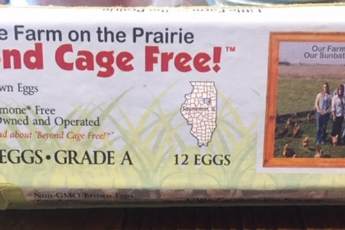 Little Farm on the Prairie eggs