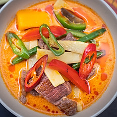 Beef Thai Red Curry -