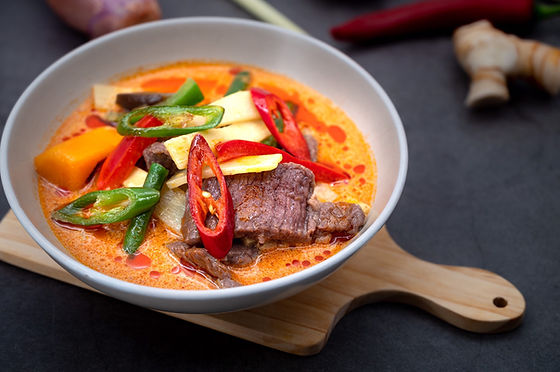 Beef Thai Red Curry