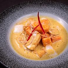 Tofu & Butternut Squash Curry-