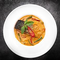 Salmon Thai Red Curry -