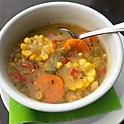 Trinidad Style Corn Soup
