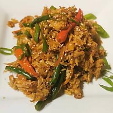 Jerk Chicken Fried Rice Dinner