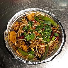 Vegan Trini Style Lo Mein