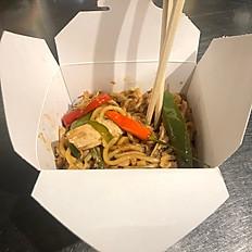 Jerk Chicken Guyanese Style Chow Mein