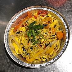 Ackee & Seaweed Guyanese Style Chow Mein