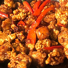 Cauliflower General Tao w. Basmati Rice