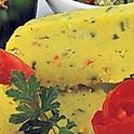 Coucou w. tomato salsa (Caribbean Polenta)
