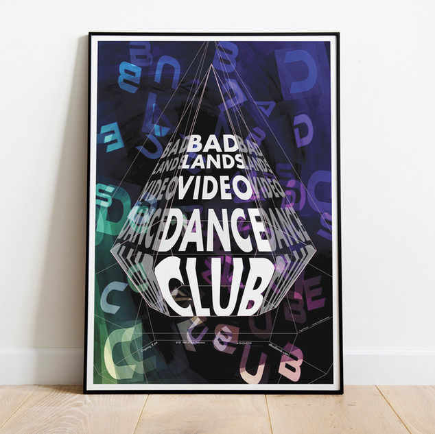 Dance Club Poster