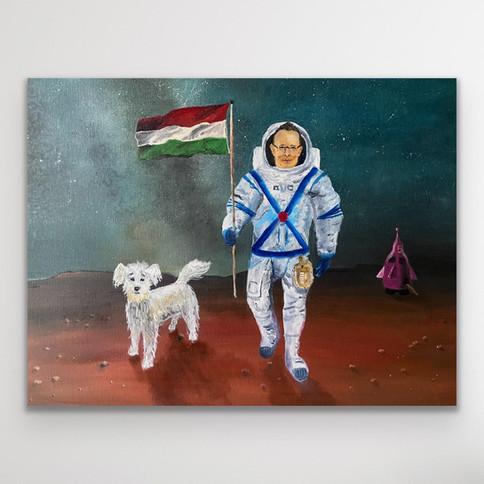 Blöki és Péter landolása a Marson a Magyar Nemzeti Űrprogram keretében (2024)