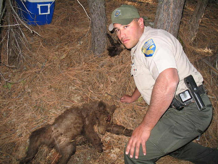 California game wardens for Ca game and fish
