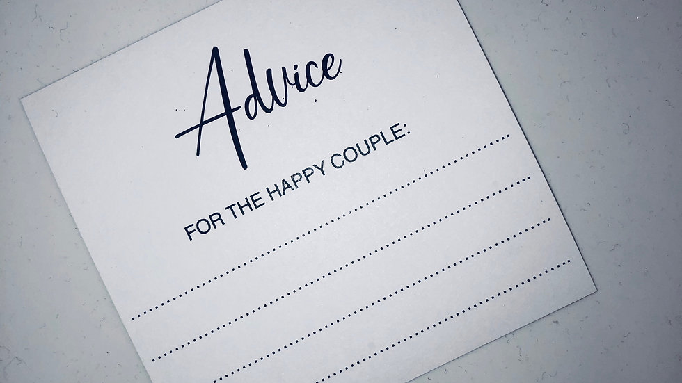 Advice Cards (Pack of 10)
