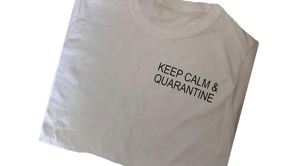 'Keep Calm & Quarantine' Tee