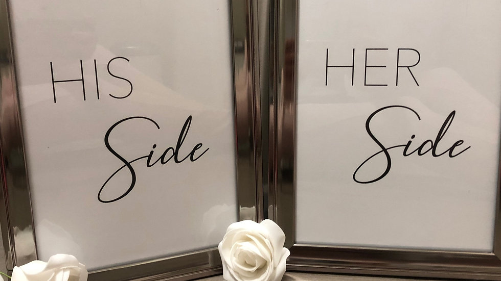 HIS SIDE | HER SIDE