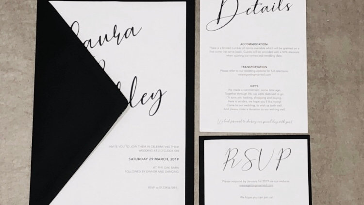 'Simplistic' Invite Bundle