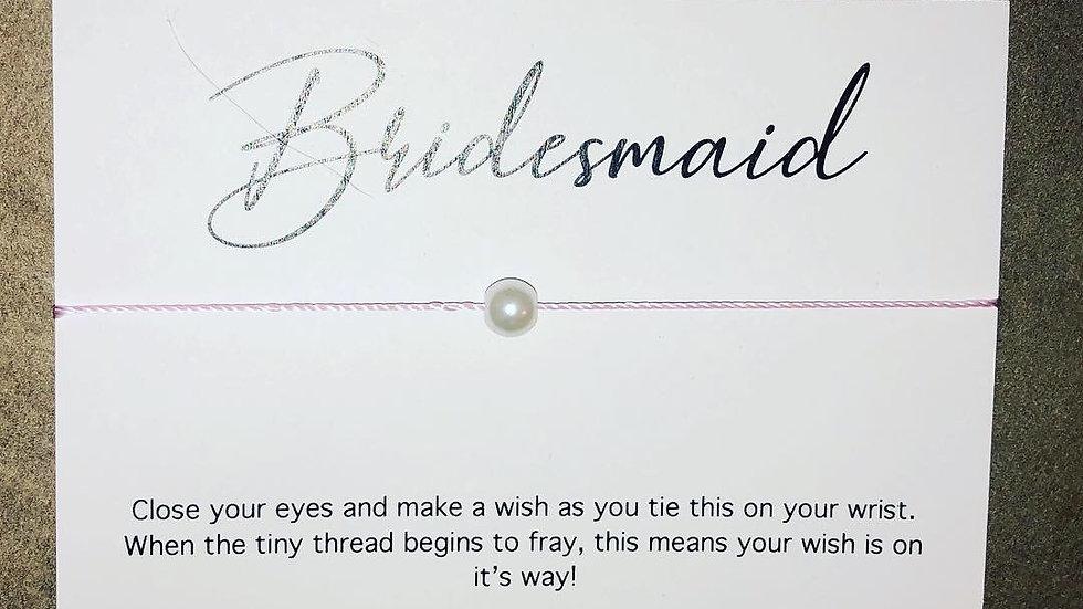 Bridesmaid / Maid of Honour Bracelets