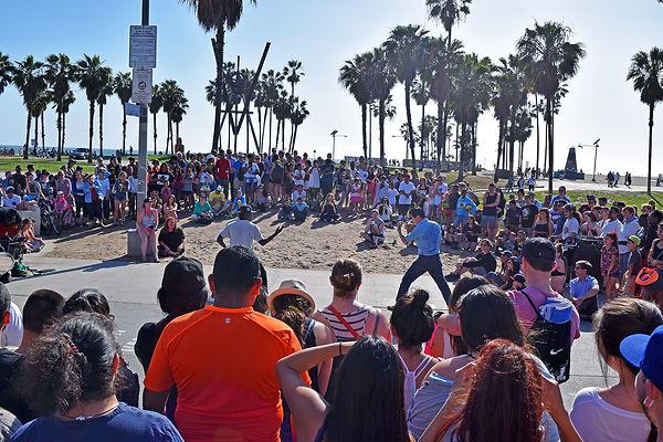 California-LosAngeles-VeniceBeach-Kungfu