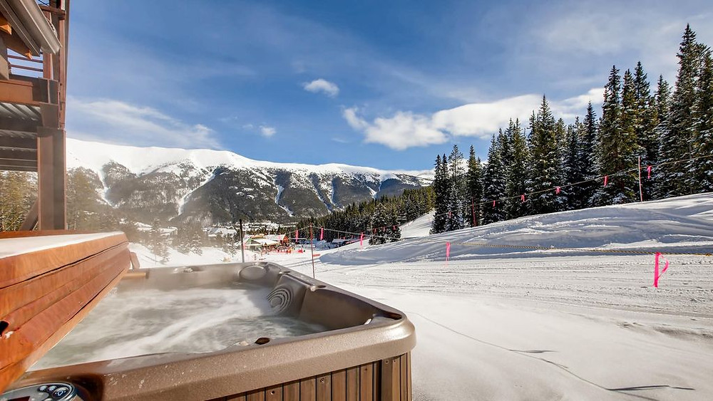 True Ski In-Ski Out at Lewis Ranch Lodge