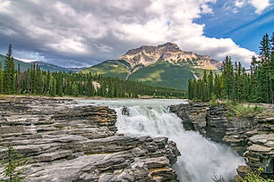 Best Waterfalls of the Icefields Parkway