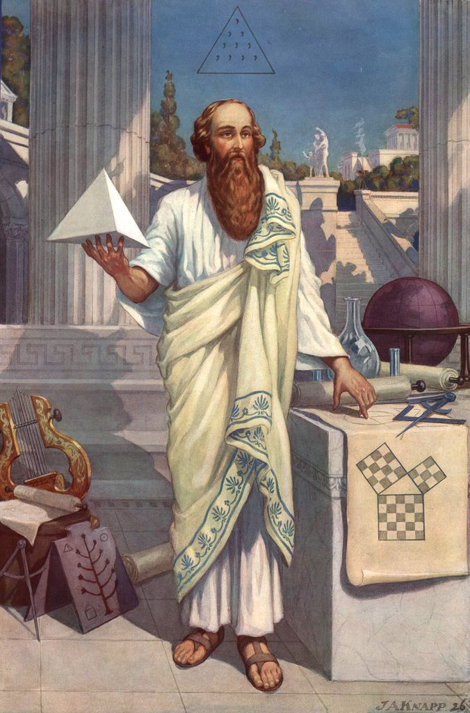 Pythagoras connected everything with numbers
