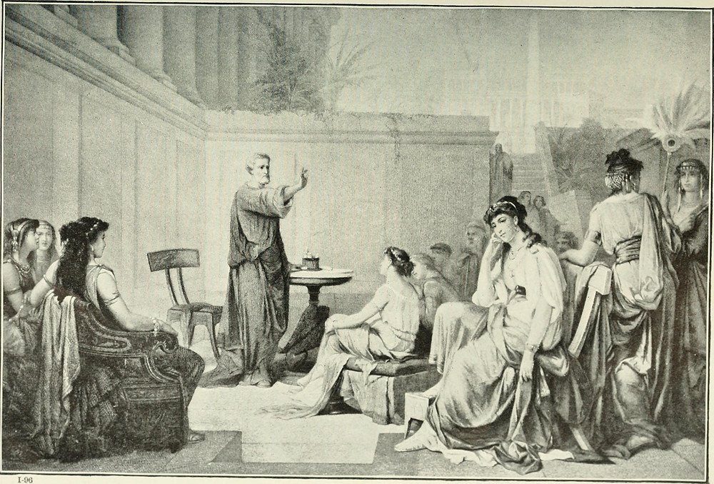Pythagoras and women philosophers