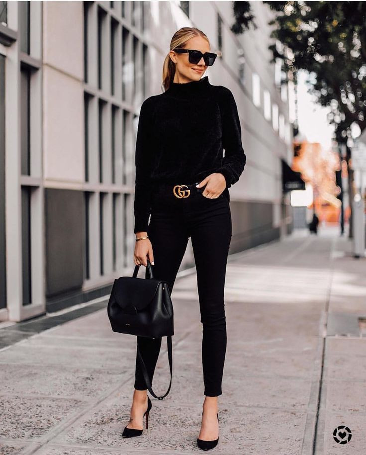 BLACK OUTFIT FOR WOMEN, Black outfit, style, comfort style, street style