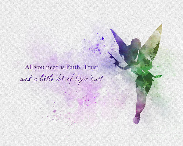 Trust, faith and pixie dust