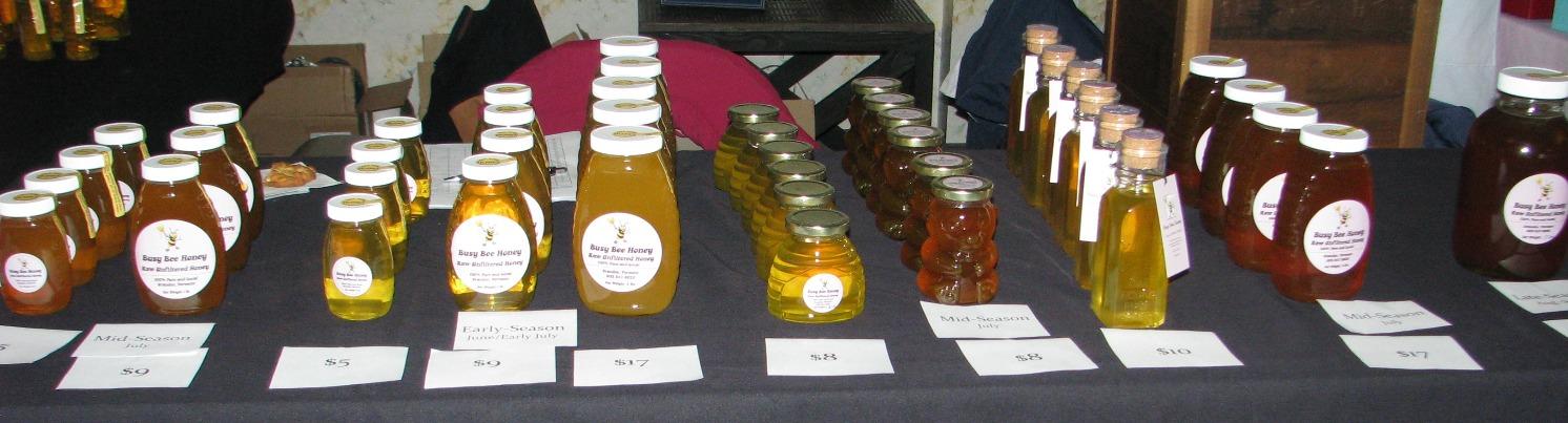 Display at an Artisan's Fair