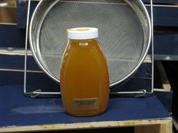 Late season crystallized honey
