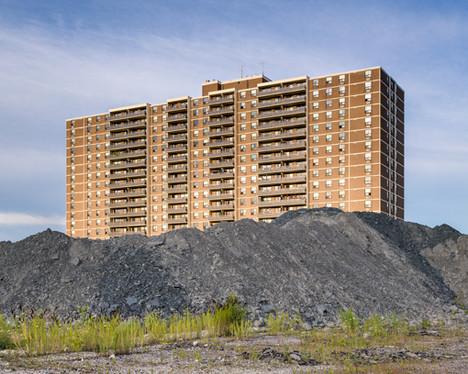 "511 The West Mall, Toronto (Bransfield House) 2014, chromogenic print, 48"" x 60""   48/66"