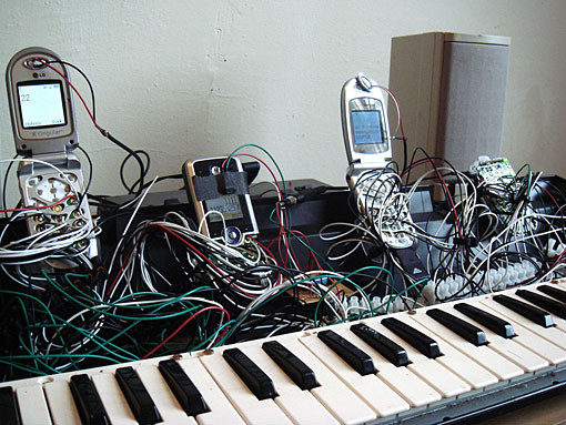 Cell Phone Piano