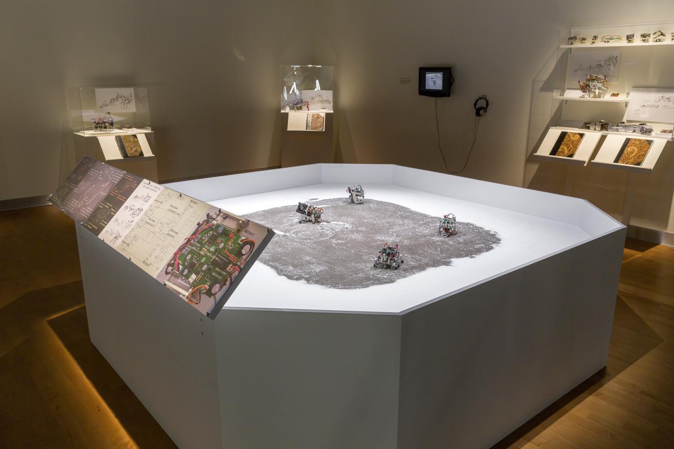 Field Studies V2 as a Museum Exhibit