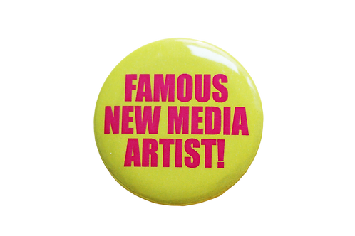 Jeremy Bailey - Famous New Media Artist! Button