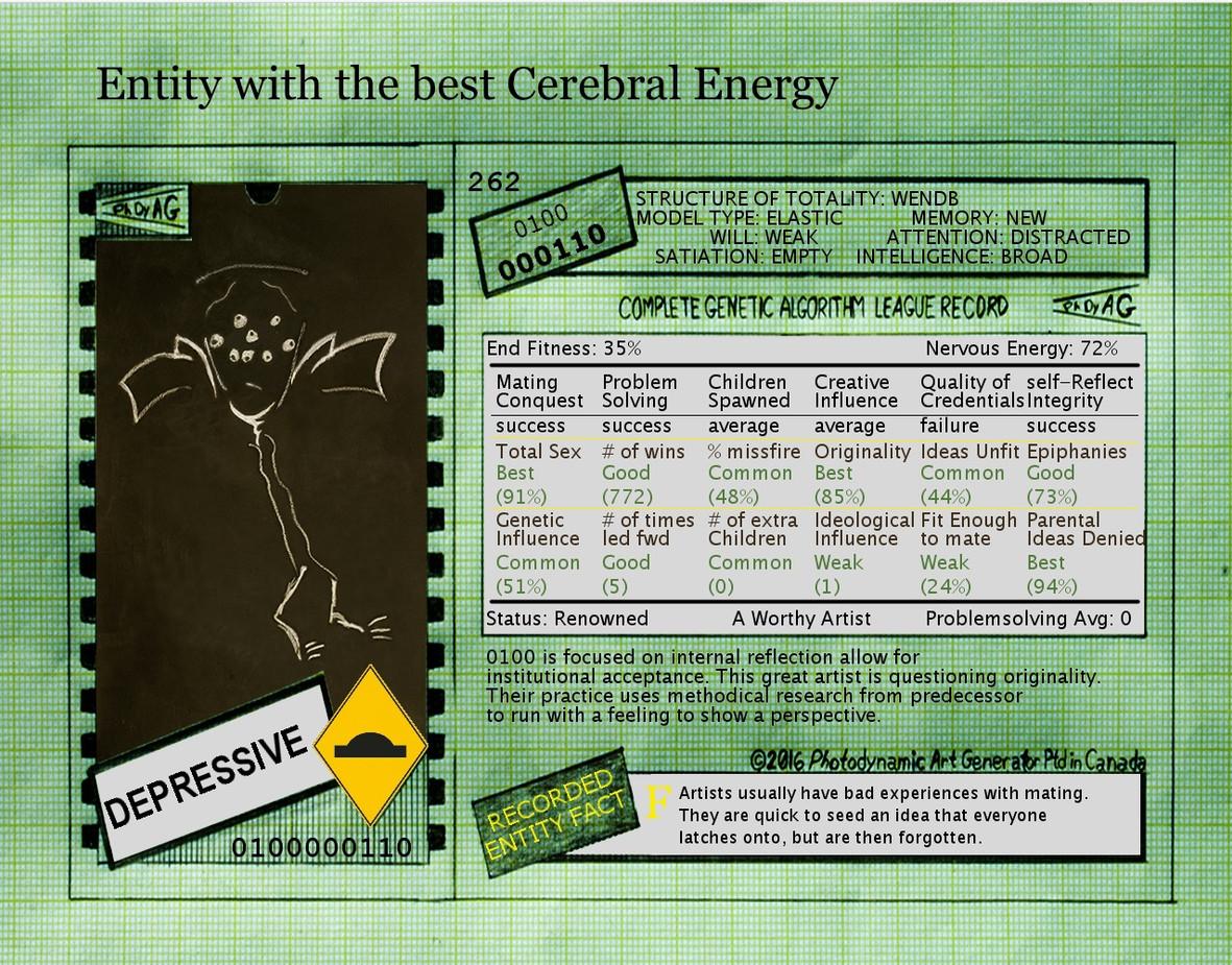 Photodynamic Conscious Machine: Agent Card 0100