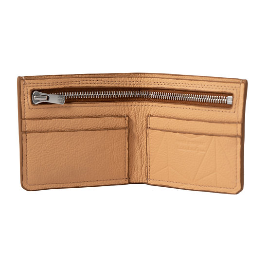 wallet 501 in sahara leather